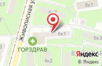 Схема проезда до компании Дизайн-Бюро  в Москве