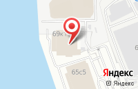 Схема проезда до компании Берген Фиш в Москве
