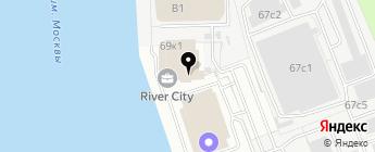 БАТЭ на карте Москвы