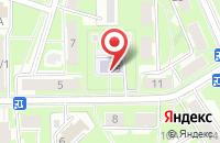Схема проезда до компании Солнечный зайчик в Серпухове