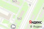 Схема проезда до компании Новая клиника в Москве