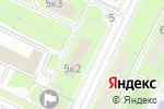 Схема проезда до компании Эстетик Сити в Москве