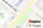 Схема проезда до компании Tutt.ru в Москве