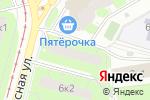 Схема проезда до компании Наномаркет в Москве