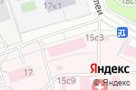 Схема проезда до компании Альтер Дент Медицинз в Москве