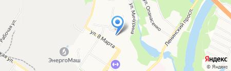 Маяковский на карте Химок