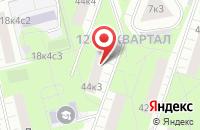 Схема проезда до компании Форест в Москве