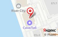Схема проезда до компании Эксм Ко в Москве