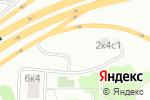Схема проезда до компании Гаражно-строительный кооператив №351 в Москве