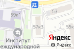 Схема проезда до компании Studio-Line в Москве