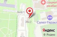 Схема проезда до компании Ройд в Москве