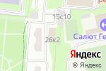 Схема проезда до компании Окно ТО в Москве