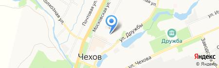 Детский сад №14 на карте Чехова