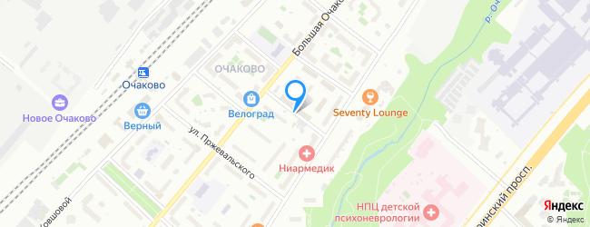 переулок Очаковский 3-й