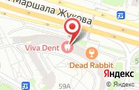 Схема проезда до компании Ателье По Камню в Москве