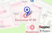 Схема проезда до компании АРХИТЕКТУРНАЯ ФИРМА ЭКСПОТЕК в Москве
