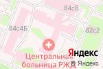 Схема проезда до компании Физическая реабилитация в Москве