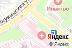 Схема проезда до компании Стоматологическая поликлиника в Москве