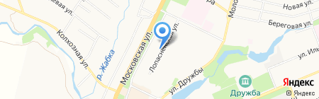 Магазин канцелярских товаров на Лопасненской на карте Чехова