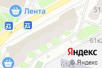 Схема проезда до компании На Тухачевского в Москве