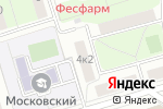 Схема проезда до компании Три Ступени в Москве