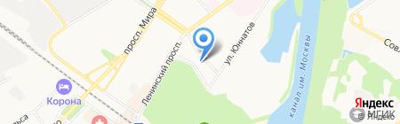 Аварийно-спасательная служба на карте Химок