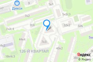 Сдается двухкомнатная квартира в Москве Инициативная ул., 7к3