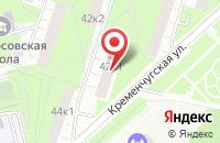 Схема проезда до компании Коммерсстрой в Москве