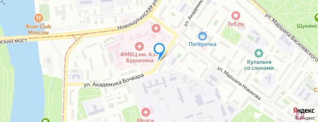 улица Академика Бочвара