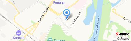 Верона на карте Химок