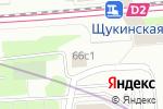 Схема проезда до компании Пир-Бар в Москве