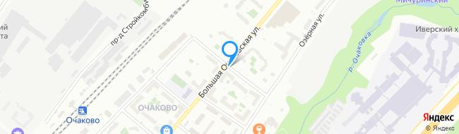 переулок Очаковский 1-й