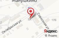 Схема проезда до компании ДорХан в Столбище