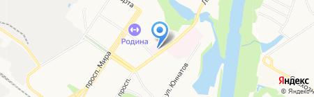 Поликлиническое отделение №1 на карте Химок
