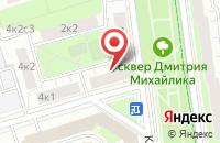Схема проезда до компании Алекс-Контакт в Москве