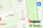 Схема проезда до компании Труляля в Москве
