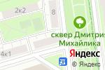 Схема проезда до компании Ice Clean в Москве