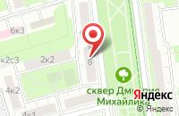 Схема проезда до компании Аполло-Фильм в Москве