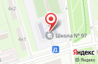 Схема проезда до компании Инжспектор в Москве