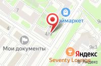 Схема проезда до компании Такелажникъ в Москве