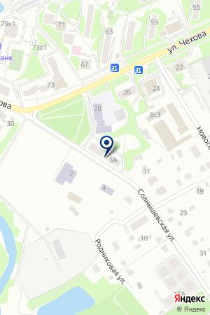 БИЛЕТНАЯ КАССА МОСОБЛТРАНСАГЕНТСТВО на карте Чехова