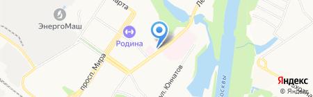 Общежитие на карте Химок