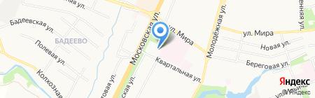 АСК на карте Чехова