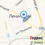 ТулЗемПроект на карте Ленинского