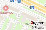 Схема проезда до компании CWomen в Москве