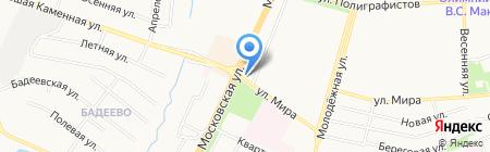Киоск фастфудной продукции на карте Чехова