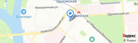 ГЕНЕЛЕН на карте Москвы