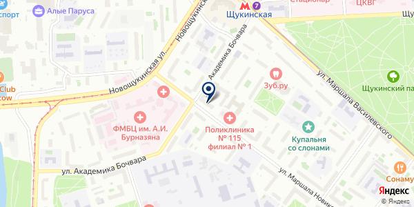 ПТФ ФАРМАКОН-К на карте Москве