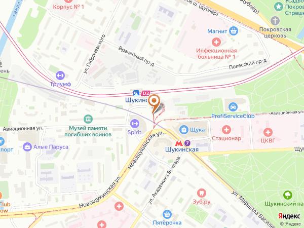 Остановка «Метро Щукинская», Авиационная улица (1426) (Москва)