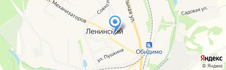 Администрация муниципального образования Ленинского района на карте Барсуков